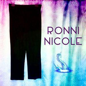 PETITE: RONNI NICOLE Pull-On Stretch Pants
